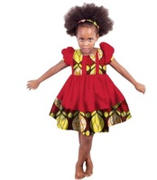 Robe Africaine Real Sale African Dresses For 2018 Girls Dress African Girl Clothing Cotton Printing
