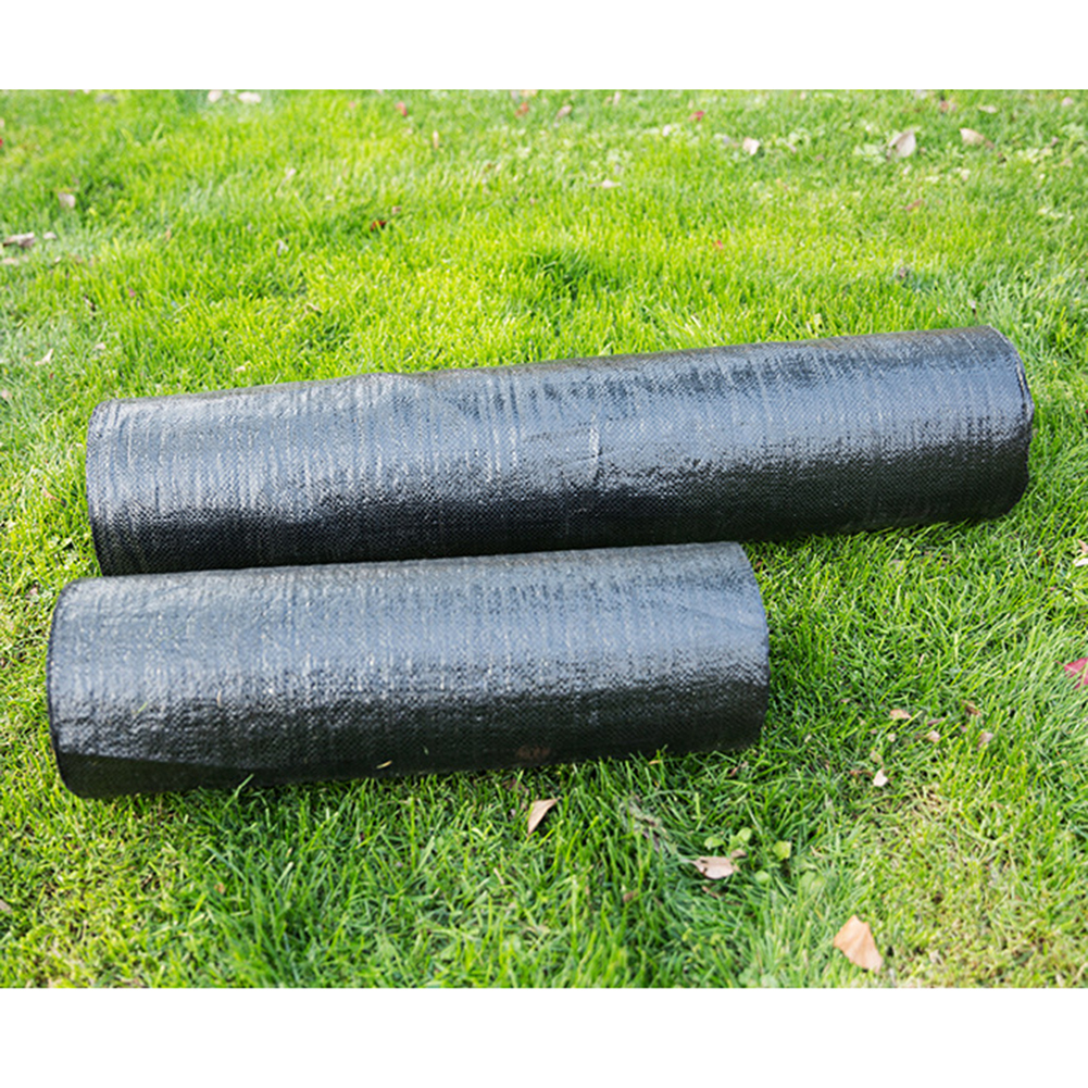 0.8x5m/1x10m/1x15m Fabric Anti Weed Barrier Agriculture Ground Cloth Cover Garden Mats Keep Your Place Clear And Neat New