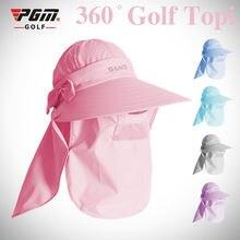 Pgm Солнцезащитная шляпа для гольфа рыбалки женская летняя кепка