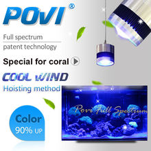 POVI CA series Led Aquarium Light 100W70W50W high Quality led coral lighting for Shallow sea Coral/Deep-sea Coral reef Fish Tank
