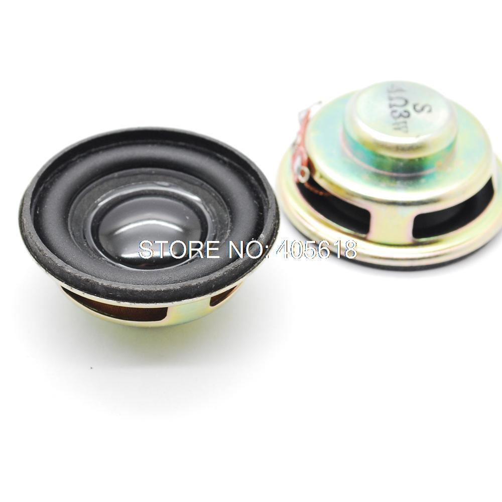 wholesale!! 50pcs Electric Speaker high quality moving coil 4R rubber edge horn Mini speakers Passive Components