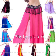 Belly dance skirt dancing costume indian dance skirt clothes bellydance skirt 1pc skirt 13 color VL-311
