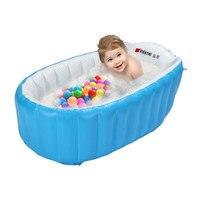 Newborn Bath Tub For Babies Inflatable Tub Bath Thickened Folding Child Bathing Tub Baby Care Products Portable Bathtub 0 5y