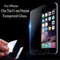 Para iphone 5 5s 5c se protetor de tela ultra fina 0.1mm 9 h vidro temperado película protetora claro w0f32 p66