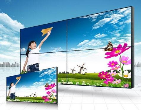 Samsung 4655 makes 2x2 led lcd video wall smart wifi ad HD lcd