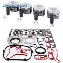 NEW 06H 107 065 DD Engine Piston Cylinder Head Gasket Seal For VW Golf Jetta Audi A4 Q5 Skoda EA888 2.0TFSI 06H103383AD Pin 23mm