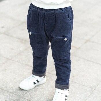 Baby Boy winter broek voor 2 4 6 8 10 jaar oude kinderen corduroy broek baby boy warme dikke fluwelen casual broek kids kleding