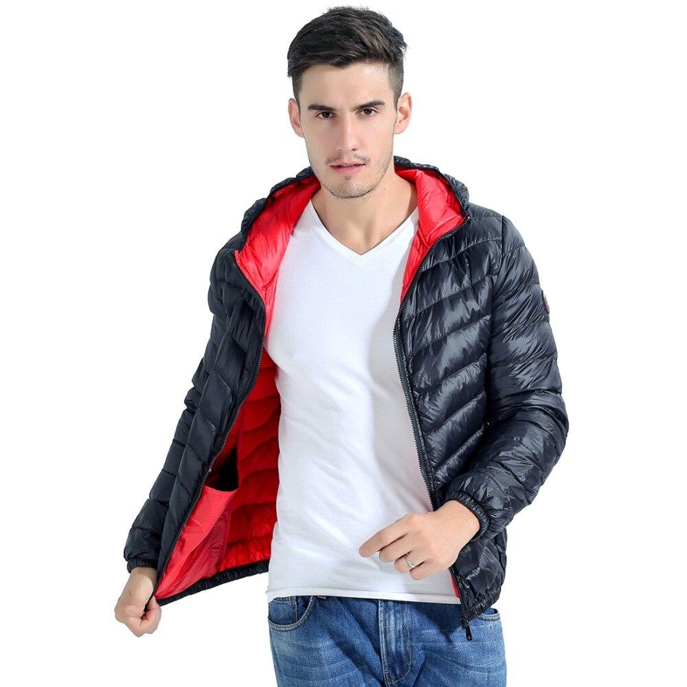 winter Keep Warm Thick Overcoat mens Lightweight Hoody   Down     Coats   Packable Puffer   Down   Jacket hooded   coat