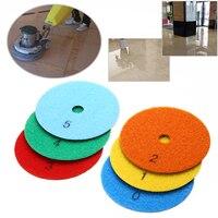 6pcs 4 Dry Diamond Polishing Pads Set Kit Mayitr Dry Polishiung Pad For Granite Stone Concrete