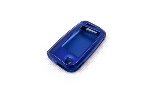 Жесткий Пластик БЕСКЛЮЧЕВОЙ дистанционный ключ защитный кожух(глянцевый металлический синий) для VW Volkswagen Golf MK7