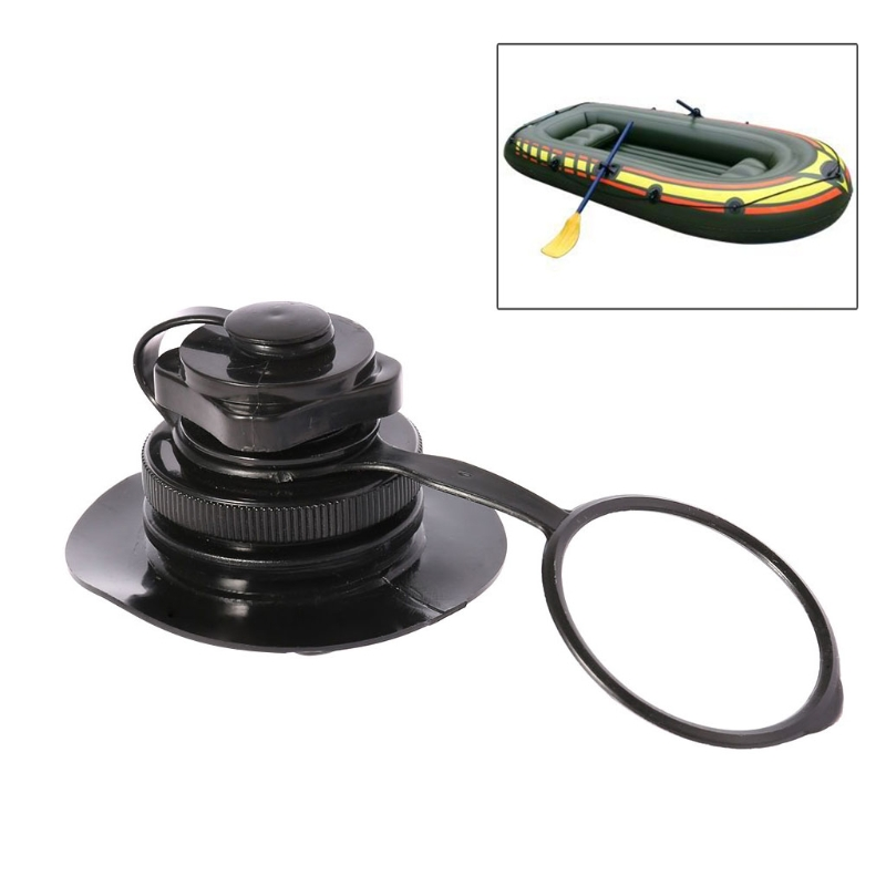 Air Valve Screw For Inflatable Boat Fishing Boats Raft Airbed Outdoor Black