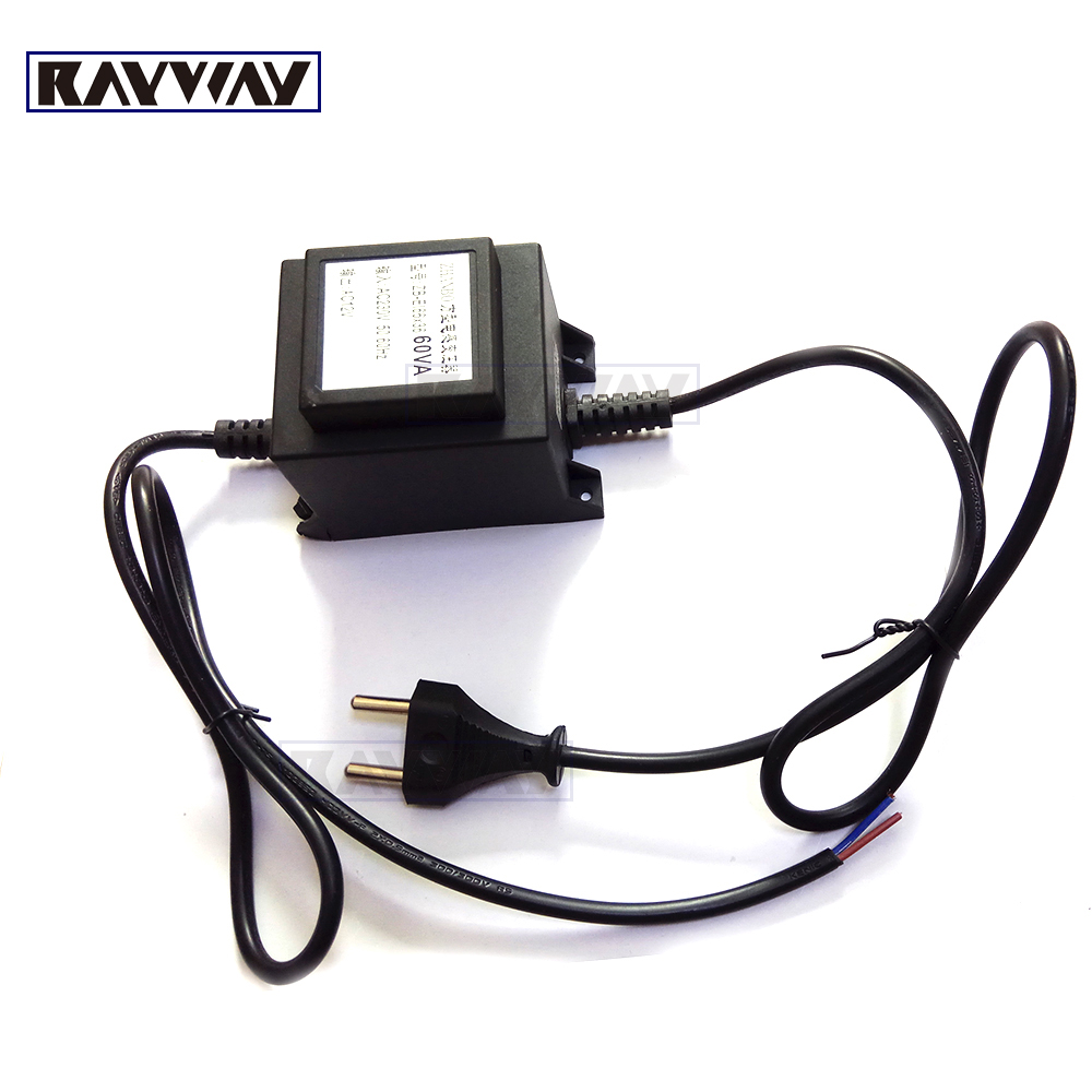 Metal AC220V-240V to AC 12V Power switch LED Swimming Pool Light Power supply 60w IP65 Waterproof power Adapter transformer ac 85v 265v to 20 38v 600ma power supply driver adapter for led light lamp