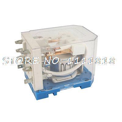JQX-40F 2Z 40A DC 12V Coil PCB Electromagnetic Relay DPDT 8 Pin 2 NO 2 NC jqx 40f 2z ac 220v coil 40a 250v ac 28v dc electromagnetic relay dpdt 8 pin