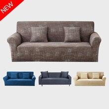 Modern Sofa Cover All-inclusive Slip-resistant Cheap Sofa Towel Elastic Corner Sofa Sectional Covers Spandex Sofa Slipcover 1PC