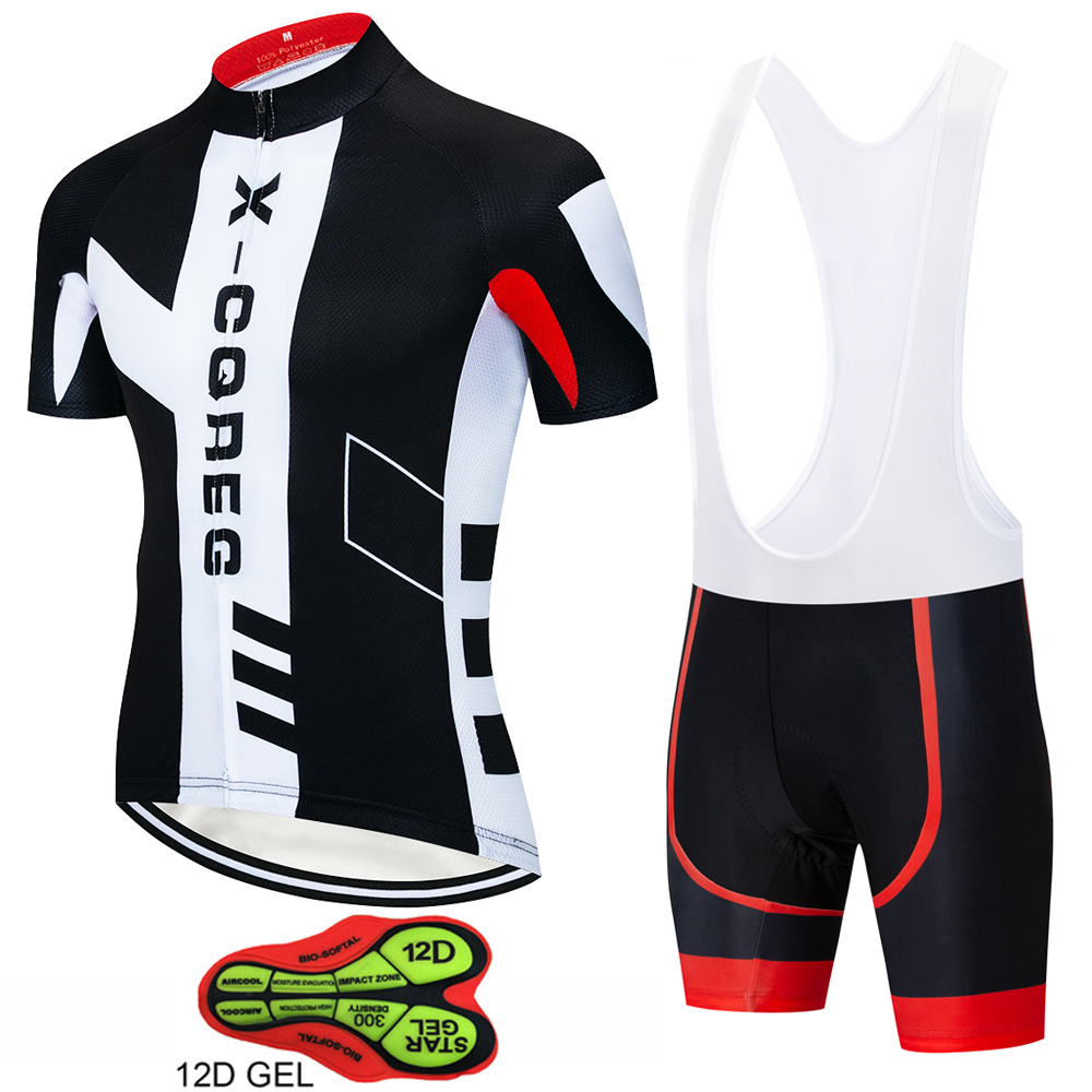 2019 Hot Team Pro Bike Cycling Jersey Set Summer Breathable Bicycle Jerseys Clothes Maillot Ropa Ciclismo Cycling Clothing