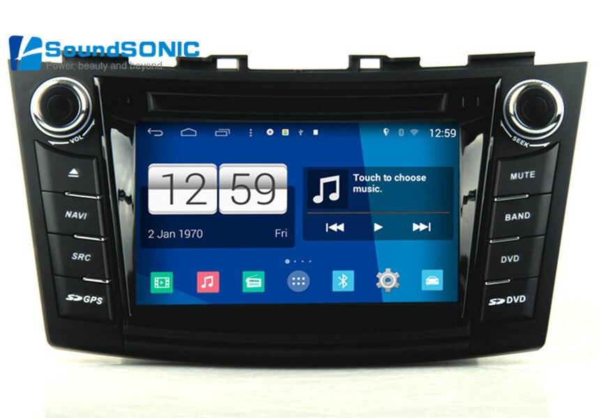 Autoradio Suzuki Swift : for suzuki swift 2011 android 4 4 autoradio gps navigation nav car media dvd player radio ~ Melissatoandfro.com Idées de Décoration