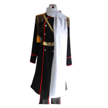 APH Axis Powers Hetalia Russia Military Uniform Cosplay Costume high boots manas high boots