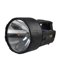 Outdoor 55W HID 12V hunting light ocean xenon portable spotlight for boat,fishing
