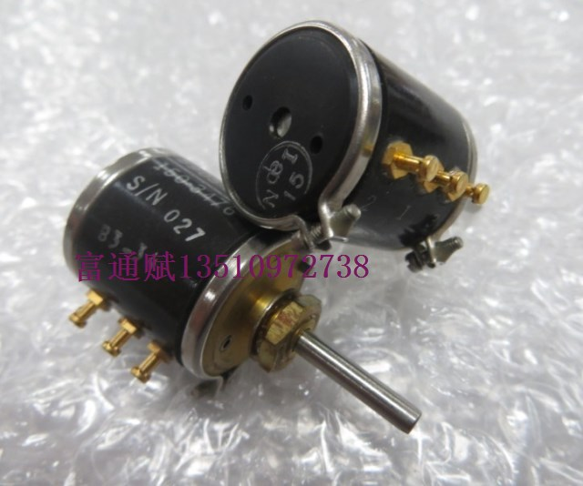 [VK] Imported E2B71-103-5905-01-150-3476 multi-turn potentiometer 3 laps 10k wire potentiometer switch 1pcs u s imports bi 7276 winding multi turn potentiometer switch r1k 2k 5k 10k 20k 50k 100k