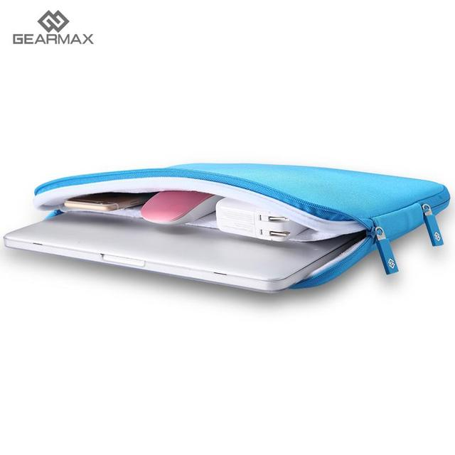 GEARMAX 100% Waterdichte Neopreen Laptop Case voor MacBook Air 13 Laptop tas voor Dell XPS 13 Notebook Tas voor Macbook Pro 13 Case