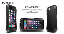 Для iphone 5 Чехол Armor защитный Любовь мэй алюминий Металл противоударный чехол для iPhone 6S жизни Водонепроницаемый случае i5 5S 6 6 S