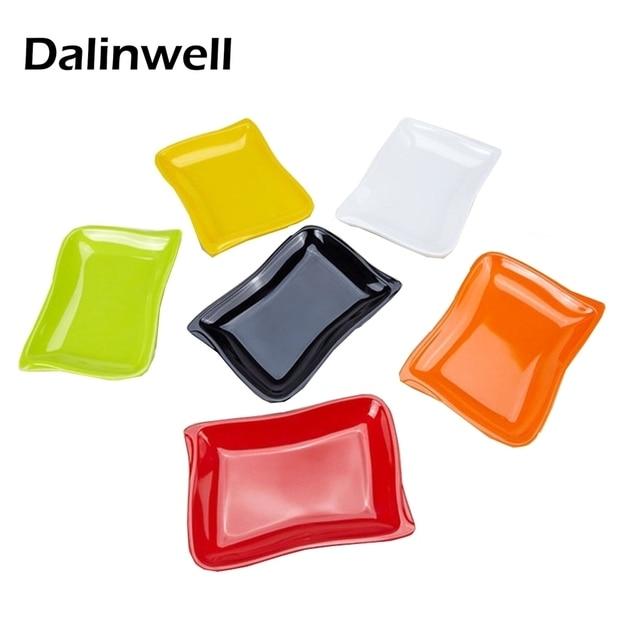 AuBergewohnlich Farbe Gegrilltes Huhn Wurst Sushi KTV Snack Schüssel Kunststoff Buffet Fach  Salat Esszimmer Platte Tisch Decor