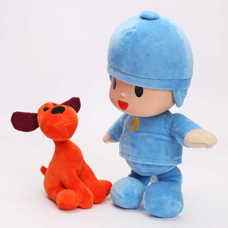 Anime 14-30 cm Crianças Brinquedos Pocoyo Elly & Pato & POCOYO & Loula Presente Stuffed Plush Toys Boa presente Para As Crianças
