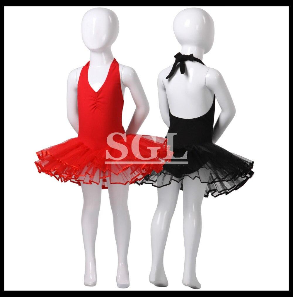 (5 pieces/lot) Cotton Lycra Girls Halter Tutu Skirts Ballet Dressses For Sale Ballet Tutu Costume Dance 8.10.12.14.16Size CS0276