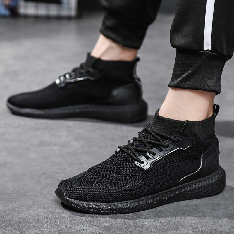 Summer Men Socks Sneakers Beathable Mesh Male Casual Shoes Lace Up Sock Shoes Loafers Boys Super Light Sock Trainers Size 39 46 Men S Casual Shoes Aliexpress