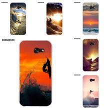 EJGROUP Billabong Surfboards Sunset Surf For Samsung Galaxy A3 A5 A7 J1 J2 J3 J5 J7 2015 2016 2017 Soft TPU Cases Capa(China)