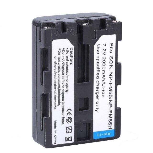 NP 1 * NP-FM50 FM50 FM55H Baterias Pack Para Sony NP-FM51 NP-FM30 NP-FM55H DCR-PC101 A100 Série DSLR-A100