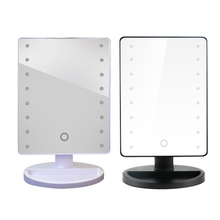 Adjustable 16 and 20 LEDs Lighted Makeup Mirror Touch Screen