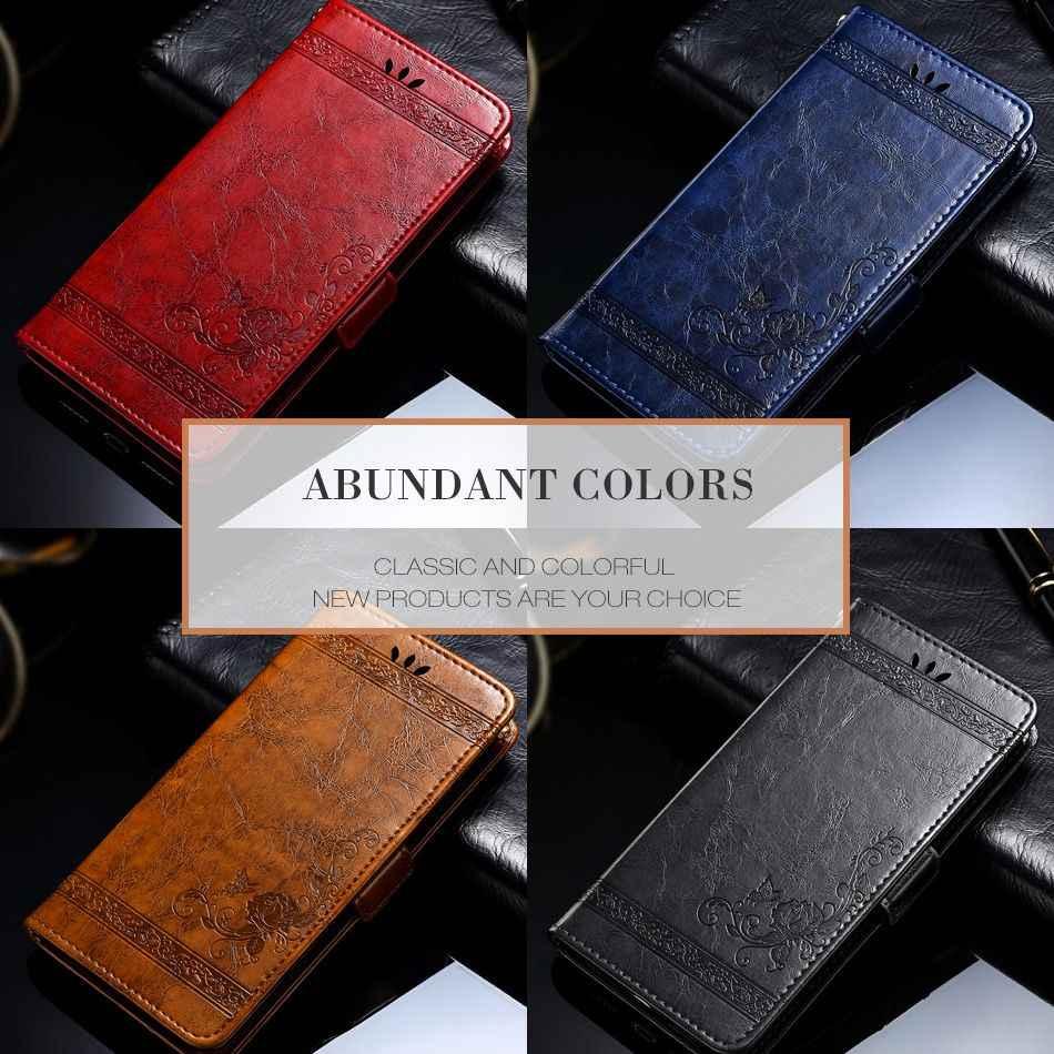 Astubia Flip Case untuk Nokia 7 Plus Case Vintage Pemegang Dompet Kulit Penutup untuk Nokia 6 Case untuk Nokia 5 1 2 3 8 9 6 7 Plus
