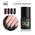 3D Cat Eyes Magnetic Nail Gel Polish Long Lasting Led UV Gel Polish Yellow Color UV Nail Gel Use Magnet Stick