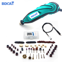 BDCAT 2018 New Style Electric Dremel Mini Drill Polishing Machine Variable Speed Rotary Tool With 106pcs