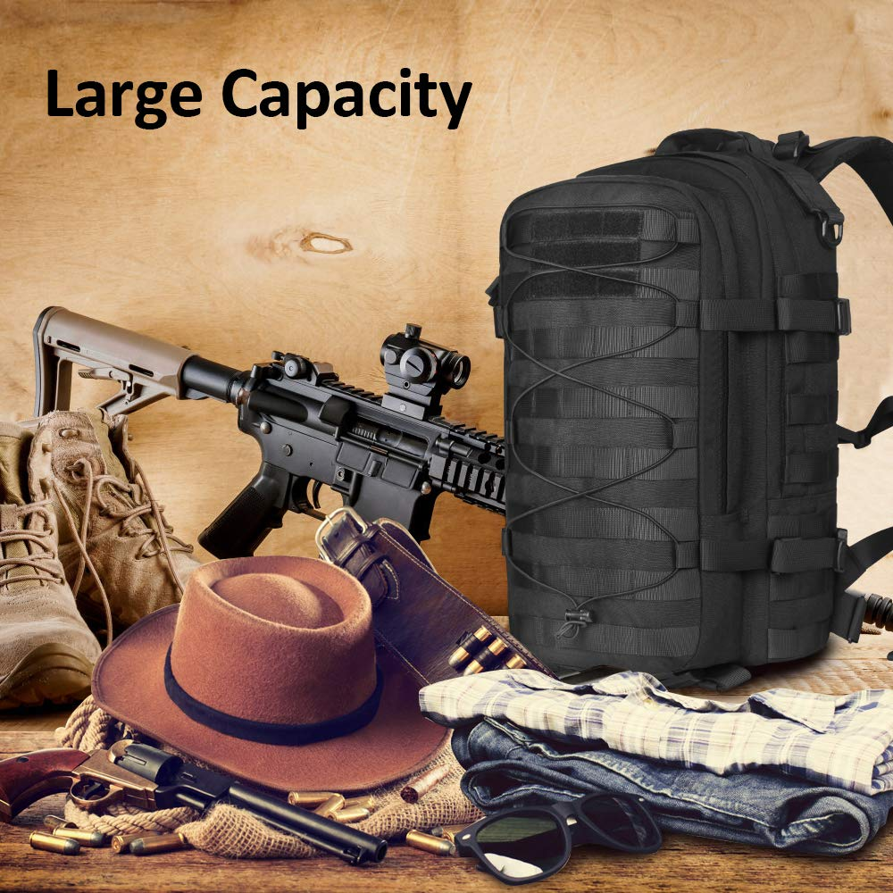 Outdoor Tactical Backpack Military (7)