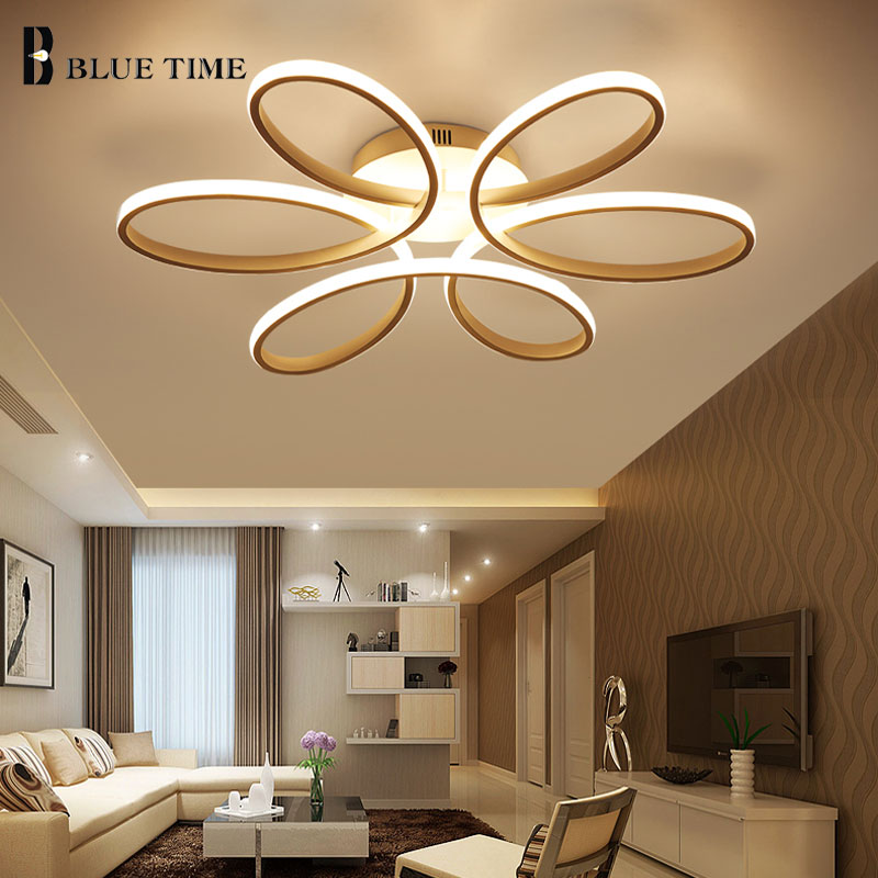 купить Led Chandelier For Living room Bedroom Dining room Study room Lustres LED Modern Ceiling Chandelier Lighting Lamparas de techo по цене 5563.56 рублей