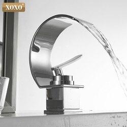 XOXO смеситель для раковины, кран для холодной и горячей воды, кран для ванной комнаты, кран для раковины с одной ручкой, смеситель для раковин...