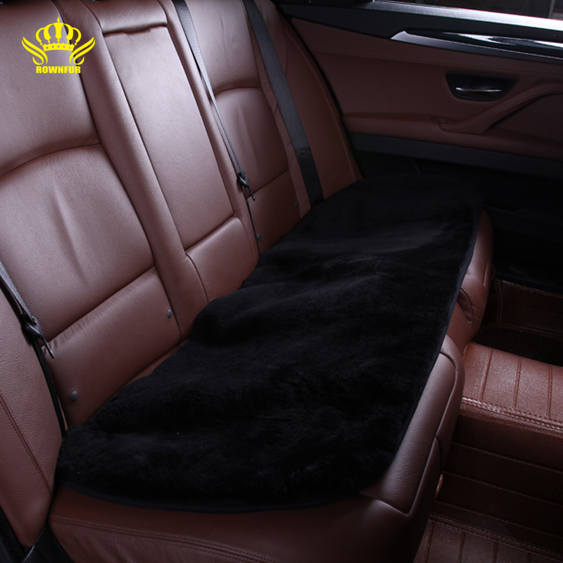car interior accessories car seat covers faux fur cute cushion styling car covers for back seat. Black Bedroom Furniture Sets. Home Design Ideas