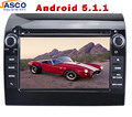 """Jasco 7"""" HD 2 Din Android 5.1.1 In Dash Car DVD Player GPS Multimedia for Fiat Ducato Auto 3G Wifi RDS Radio Audio Video Stereo"""