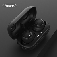 Remax TWS 2 Wireless Headset Bluetooth Earpieces Earbuds Twins Headphone With Charging box Earphones Better than For Xiaomi