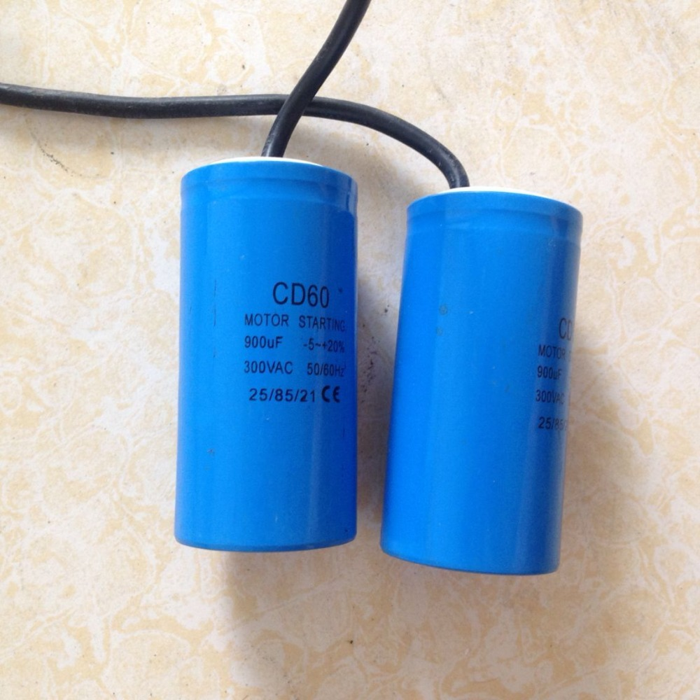 free Shipping 900UF Heavy Duty AC Staring capacitor staring capacitor cd60 100uf 250v ac 50 60hz 40 70 temperature 21