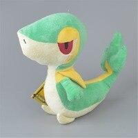 25 cm Verde Snivy Peluche Ripiene, Capretti del bambino Del Fumetto Immagine Bambola del Regalo di Trasporto Libero