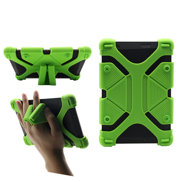 US $11 31 12% OFF|Chinfai Universal Silicone Case for iPad mini 7 9  Shockproof Case For Kindle Fire Soft Case for Huawei T3 Lenovo P8 8''  Tablet-in
