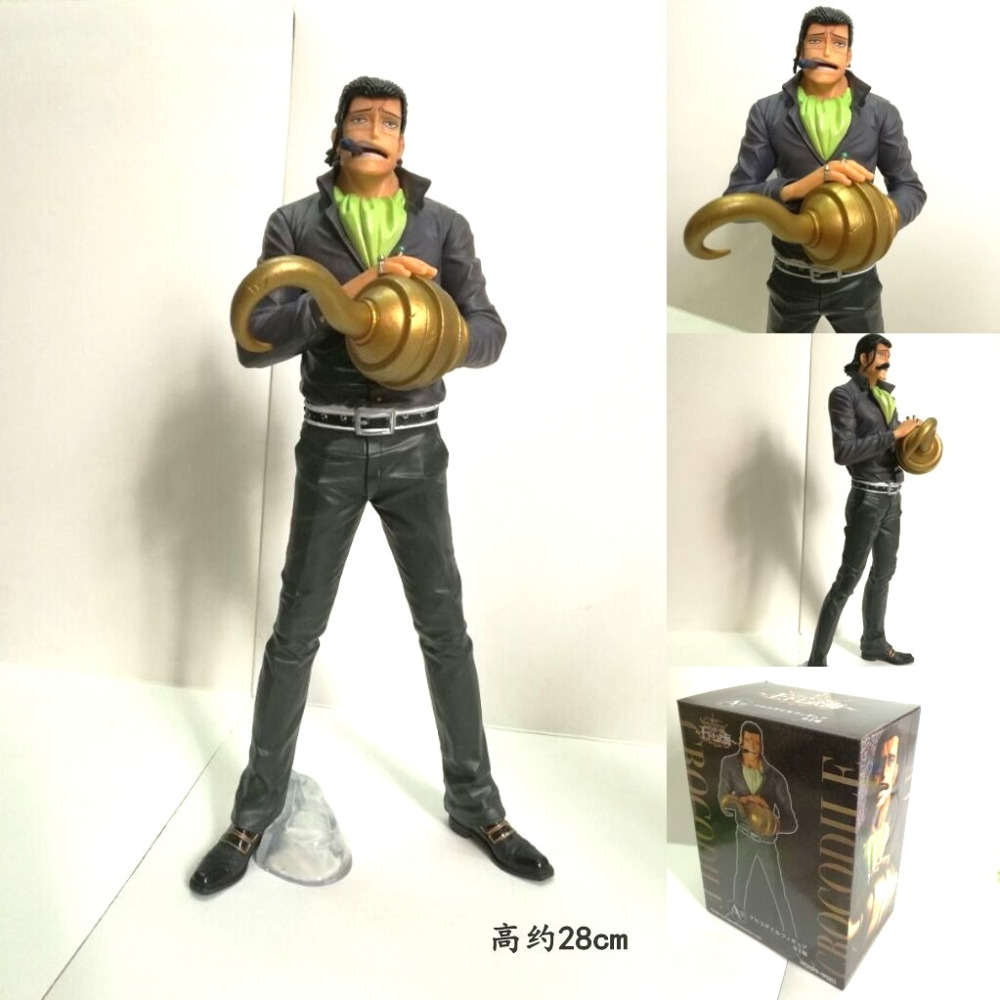 Anime One Piece Action Figure – Sir Crocodile  | 28cm