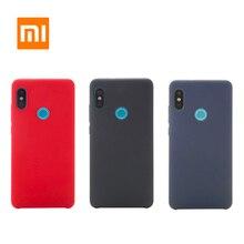 Original Xiaomi Redmi Note 5 Pro Redmi 5 Case Shockproof Phone Back Hard pc + Soft Fiber Cover Original Xiaomi Redmi 5 Plus