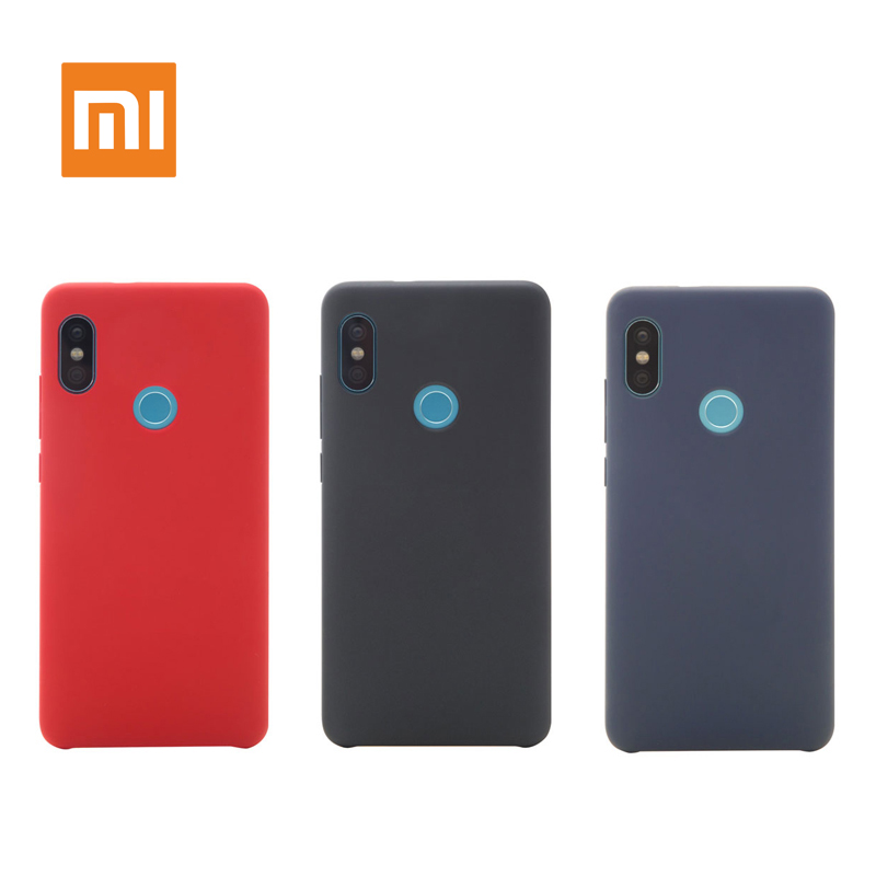 Original Xiaomi Redmi Note 5 Pro Redmi 5 Case Shockproof Phone Back Hard pc + Soft Fiber Cover Original Xiaomi Redmi 5 Plus