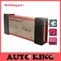 5 pcs + Navio Livre! v3.0 placa verde Multidiag pro CDP + 2015. R1 + versão sem bluetooth tcs CDP pro para carros e caminhões Multidiag pro +