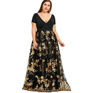 Wipalo Maxi Dress 2018 Plus Size Evening Party Dresses 6b6a732d9b32