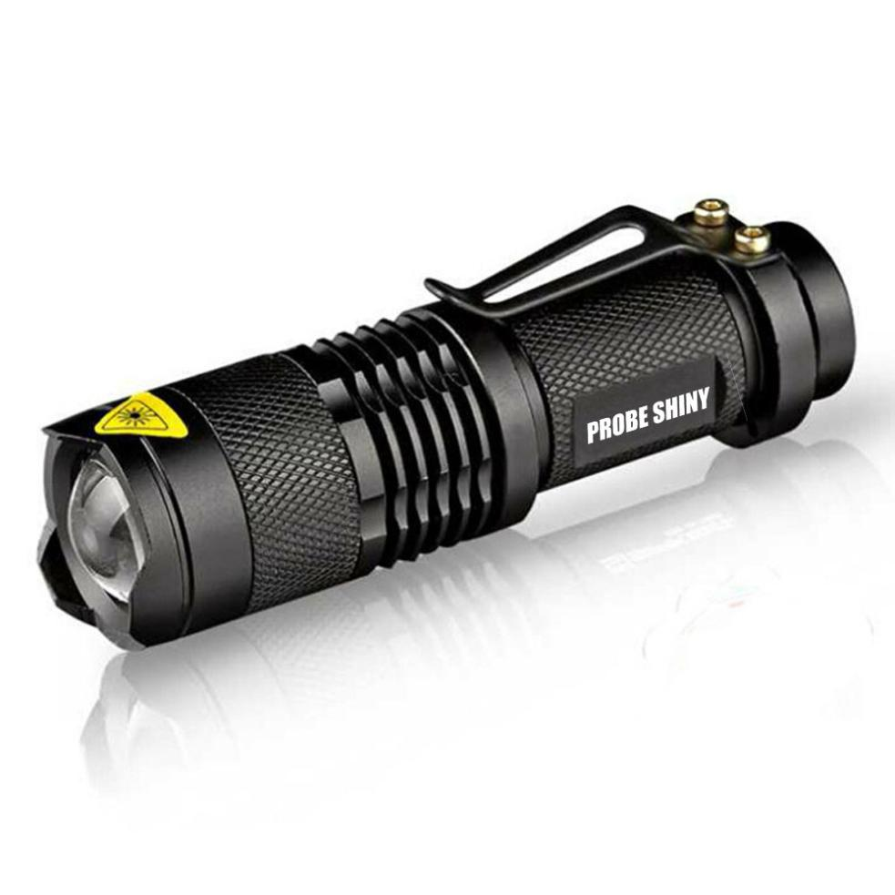 Mini Q5 LED Flashlight CREE LED Torch Adjustable Focus Zoom Light Lamp Camping And Outdoor Activity Etc